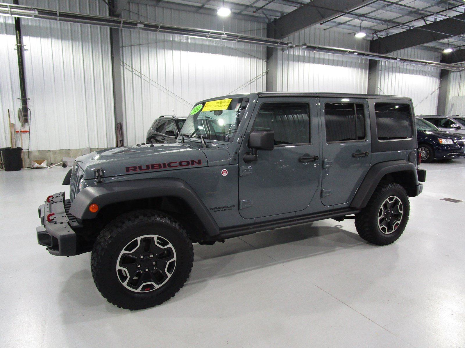 Certified Pre Owned 2014 Jeep Wrangler Unlimited Rubicon X