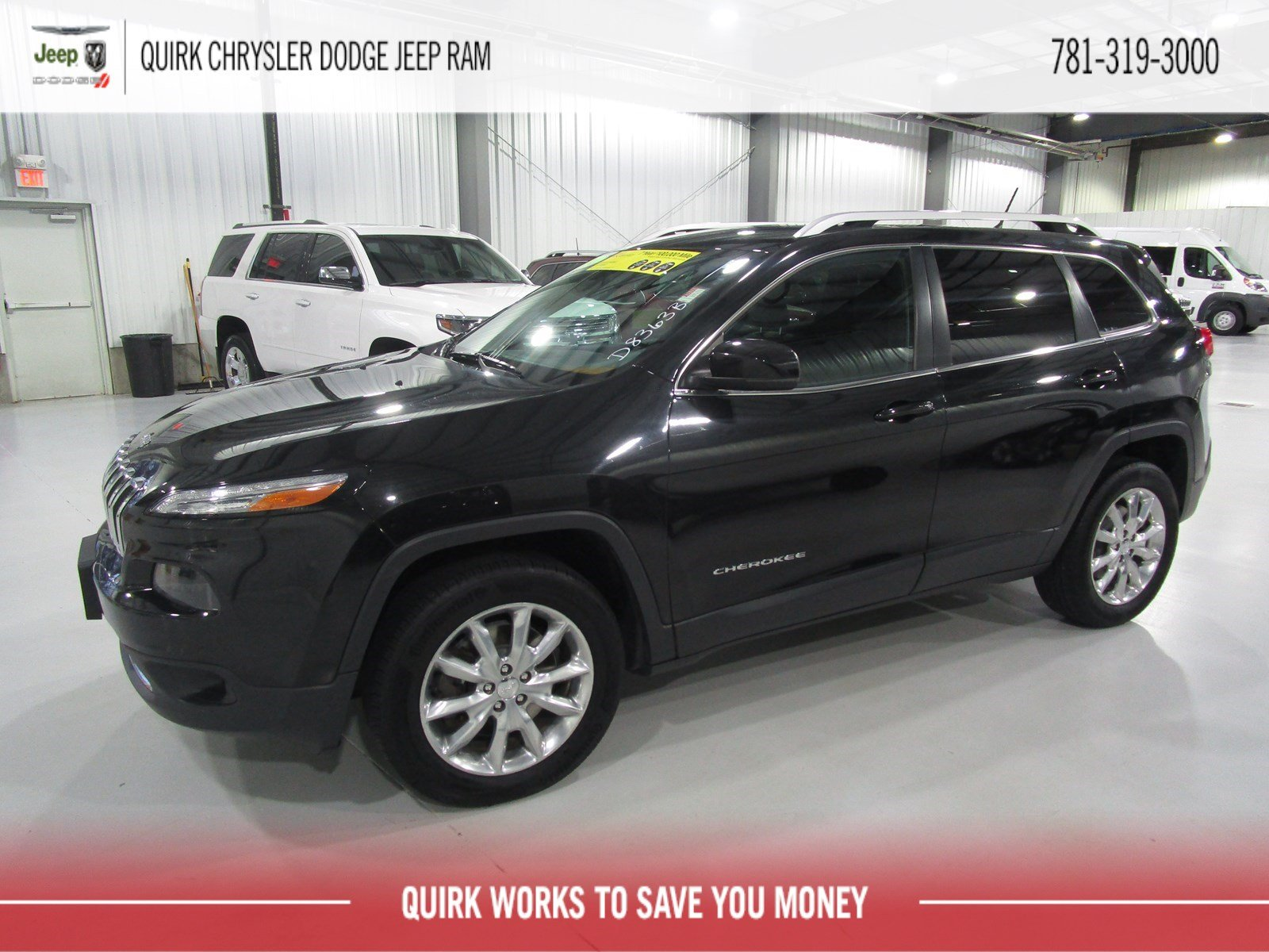 Pre Owned 2014 Jeep Cherokee Limited Sport Utility In Marshfield