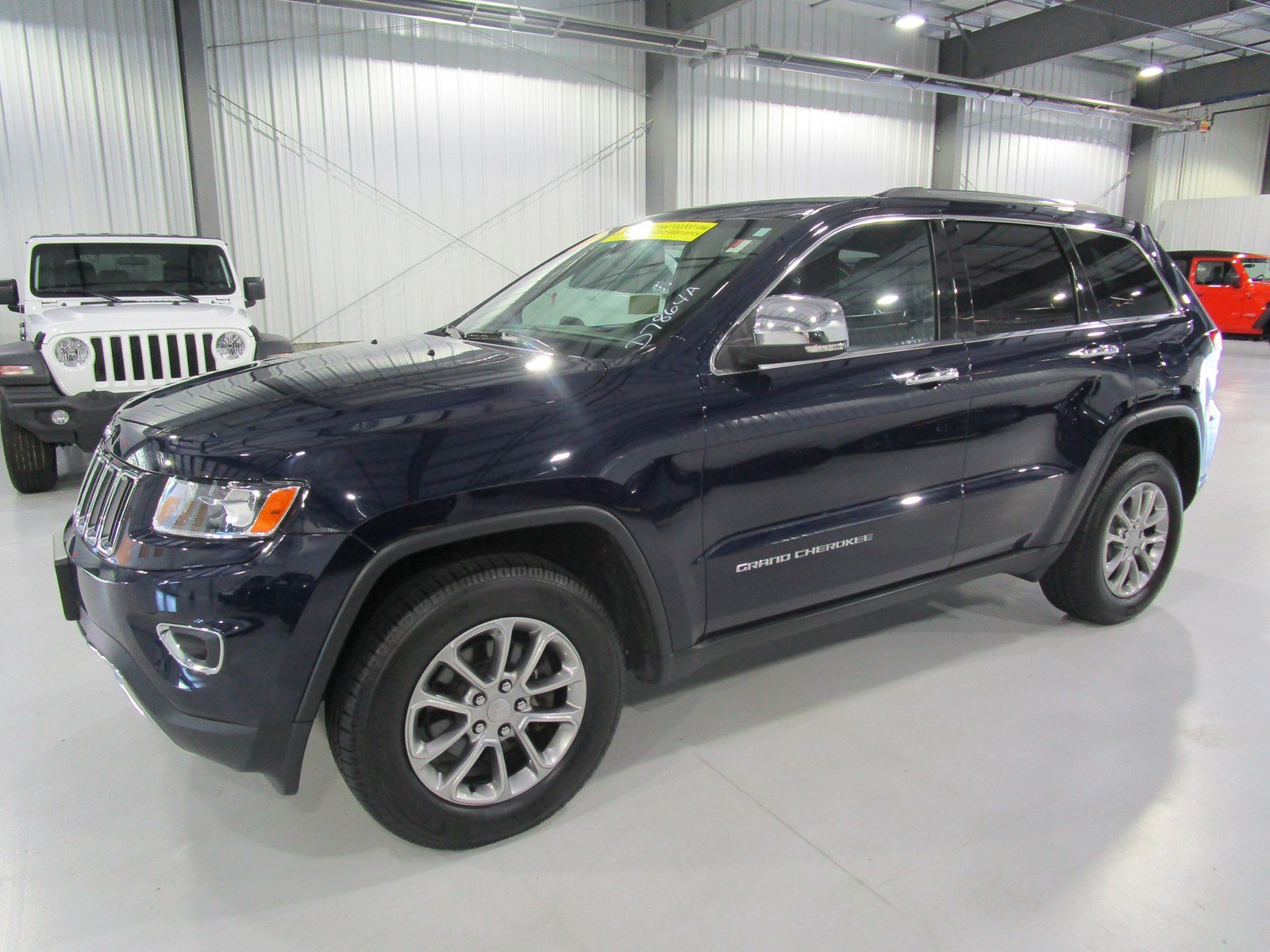 Certified Pre Owned 2015 Jeep Grand Cherokee Limited Sport Utility